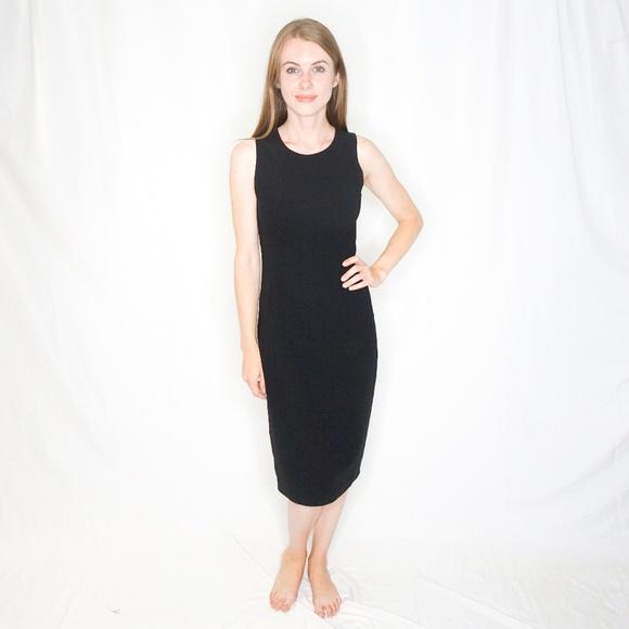 Donna Karan Dresses & Skirts - DONNA KARAN SIGNATURE Wool Shift Midi Dress 4 0409